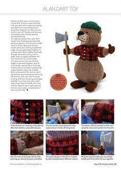 Simply Knitting №145 2016 - 轻描淡写 - 轻描淡写