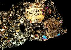A VERSION FOM CHINA:  Another arresting specimen of an ordinary chondrite, again less than 10 millimeters across, was sampled from the Bo Xian chondrite, which made landfall in Zhang Wo, China—a part of Bo County, in Anhui Province— in 1977