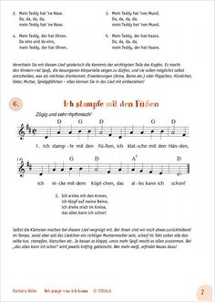 Lieder und Sprüche … Kindergarten Portfolio, Kindergarten Projects, German Language Learning, Learn German, Classroom Language, Kids Songs, Kids And Parenting, Sheet Music, Love You
