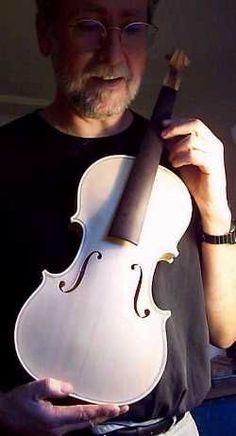 Derek Roberts violin making in 24 hours