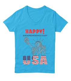 Independence Day USA | Happy independence, Custom tee shirts and ...