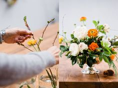 Image Interiors and Living - flowers by The Informal Florist. Photos by Nathalie Marquez Courtney