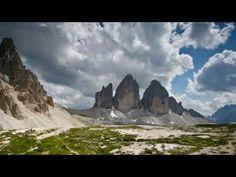Dolomiten - Thunderstorm over three Peaks / Gewitter über den drei Zinnen - Timelaps
