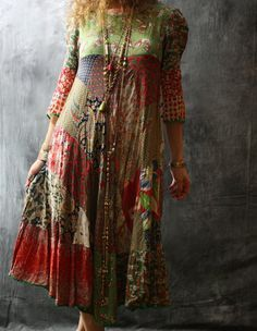 Reserved for bewernick Vintage 60s 70s Hippie Gypsy by MajikHorse