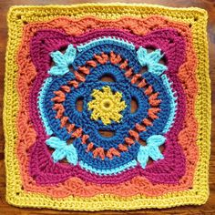 "Ravelry: The Longing Light of Evening 9"" and 12"" Block pattern by Shan Sevcik"