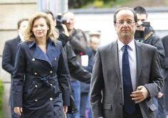 Quand Valérie Trierweiler vote, elle a déjà le style de Carla