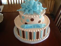 Baby Shower for Boy By cakesnglass on CakeCentral.com