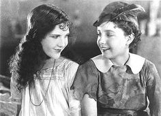 """Mary Brian as Wendy and Betty Bronson as Peter Pan - """"Peter Pan"""" (1924)"""