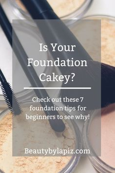 Is your foundation cakey? Check out these 7 foundation tips for beginners to see. Ist Ihre S Korean Makeup Tips, Beauty Makeup Tips, Diy Makeup, Makeup Hacks, Makeup Tutorials, Makeup Ideas, Natural Makeup Looks, Simple Makeup, Soft Makeup