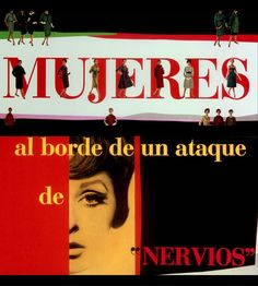 mujeres al borde de un ataque de nervios, Pedro Almodóvar (1988)