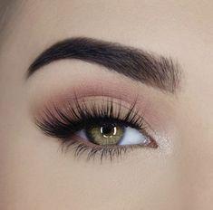 makeup, eyes, and eyeshadow Pink Eye Makeup, Makeup Eye Looks, Natural Makeup Looks, Eye Makeup Tips, Cute Makeup, Skin Makeup, Eyeshadow Makeup, Makeup Inspo, Makeup Inspiration