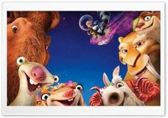 Ice Age Collision Course 2016 HD Wide Wallpaper for Widescreen