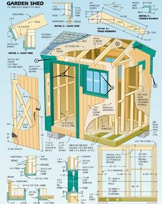 Garden Sheds Blueprints free 10x12 shed plans download | get shed plans | pinterest