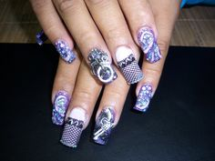 kAoTik Nail Designs by April Davidson, 559-908-1867. Add me on Facebook www.facebook.com