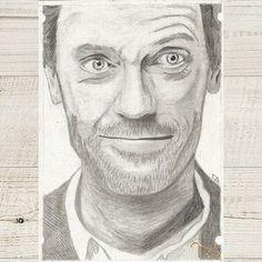 #art #drawing #drawings #drawingart #graphitedrawing #graphiteart #pencil #instaart #rajz #művészet #drhouse #hughlaurie #actor