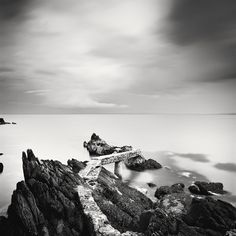 Old Pier, Ireland 2014 - No.: 11539 Toned gelatin silver print, hand signed, dated and numbered edition of 20 edition of 15 edition of 10 edition of 5 Fine Art Photography, Landscape Photography, Panorama Camera, Gelatin Silver Print, Ireland, Black And White, Exhibitions, Art Work, Image