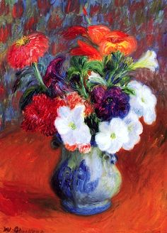 Flower Study / William James Glackens