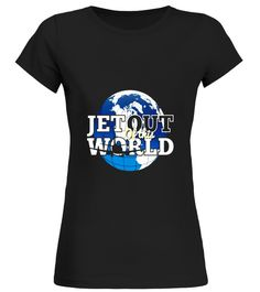 Fighter Jet Pilot Tee Aircraft T-Shirt Jet Out Of This World