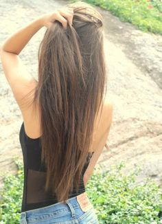 beautiful long hair:)