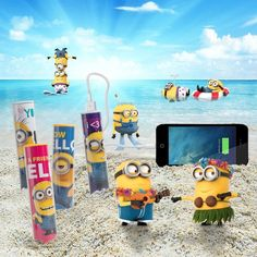 Batterie externe minions pour smartphones Minions, Batterie Portable, Smartphone, Geek Stuff, Phone Accessories, Gaming, Geek Things, The Minions, Minions Love