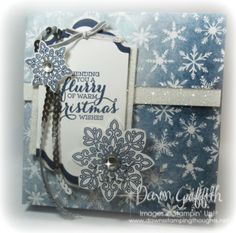 Flurry of Christmas Wishes card box