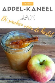 Appel-kaneel Jam, helemaal herfst!