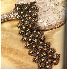 Victorian Diamond Cuff Tutorial