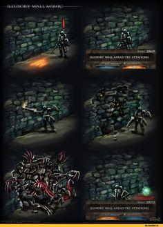 Dark Souls,фэндомы,DS комиксы,mimic,Chosen Undead,DS персонажи,удалённое