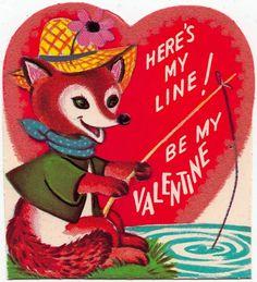 Vintage Fox Valentine
