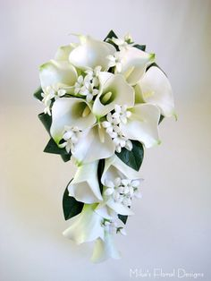 Lily Wedding Bouquets | Real Touch Calla Lily Wedding Bouquets | Quality Artificial Flowers