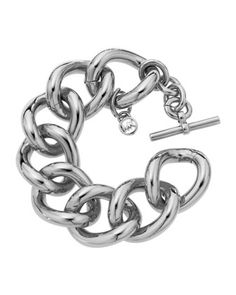Bold Link Bracelet, Silvertone by Michael Kors at Last Call by Neiman Marcus.