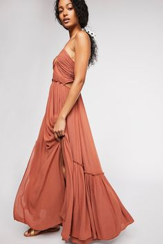 New Free People Endless Summer Need This Clay Long Maxi Dress Medium M Fall Dresses, Casual Dresses, Boho Outfits, Summer Outfits, Flowy Skirt, Free People Dress, Summer Collection, Style Guides, Bohemian Style