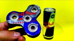 REDBULL FIDGET SPINNER HOW TO MAKE YOURSELF Creative Video, Hacks Diy, Create Your Own, Make It Yourself, How To Make
