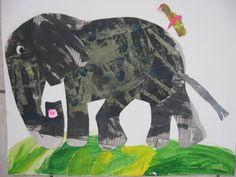 Mary Making - Eric Carle style elephant