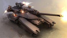 Concept tanks by Kemp Remillard