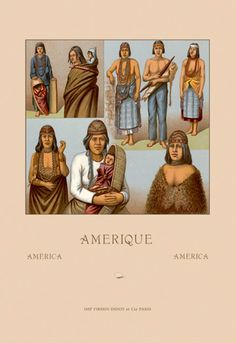 Native Americans - Killimous, by Auguste Racinet