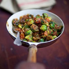 Curried Brussels Sprouts Recipe | SAVEUR