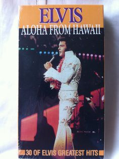 Elvis Presley Movie Music  VHS So Perfect it by DiscoveringFun, $148.00