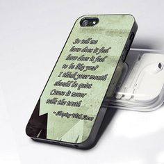 Case iphone 4 and 5 for Sleeping With Sirens Quote on Etsy, $14.89
