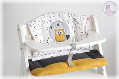 www.muriels-nähatelier.ch - muriels-nähatelier Baby Set, Chair, Furniture, Home Decor, Chair Pads, Owls, Decoration Home, Room Decor, Home Furnishings