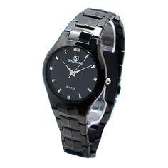 Đồng hồ nam dây thép STARHAO SH07 (Đen) - Giá 429.000đ