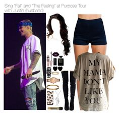 Sem título #2494 by myllenna-malik on Polyvore featuring polyvore fashion style Bling Jewelry GUESS Luxury Fashion Dollydagger Cartier Maybelline Lime Crime Chanel NARS Cosmetics clothing bieber JustinBieber PurposeTour