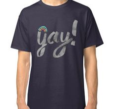 """""""Yay Gay EDR 940 """" Classic T-Shirts by andrewstinky 