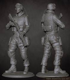 SWAT 3d Artist, Swat, Batman, Superhero, Fictional Characters, Soldiers, Swimming, Fantasy Characters