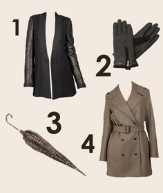 The mornings are definitely beginning to get cooler, and Autumn is all about layering to ensure you stay toasty. Why not channel the iconic Burberry with a classic trench coat? A stylish pair of leather gloves and a leather panelled wool coat would also make great investment items, mixing the leather trend with practicality. Finally we only wish we could predict the weather, so an umbrella is going to be needed on tap too.   Shop…