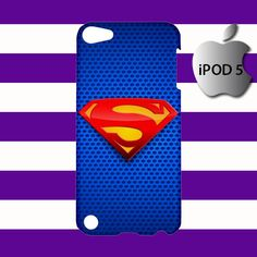 Man of Steel Superman iPod 5 5g 5th Touch Case Cover