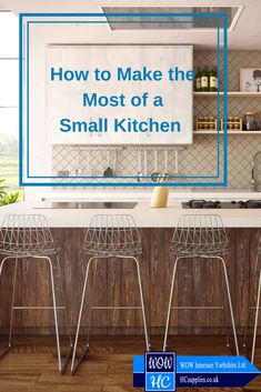 How often do you look at your small kitchen and wish you could transform it into the kitchen of your dreams? Here are a few tips to help you make the most of your small kitchen. Dreaming Of You, Kitchen Ideas, Dreams, Interior, Tips, How To Make, Indoor, Interiors, Counseling