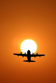 sun and plane