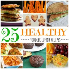 25 Healthy Toddler Lunch Recipes | Play Ideas- Highlighted #HomeMattersParty 69