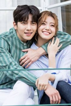 """Finally, some new drama news we can sink our teeth into! *squeals* Ji Chang Wook is teaming up (for the second time) with Nam Ji Hyun for the romantic comedy """"Suspicious Partner"""". Interracial Celebrity Couples, Korean Celebrity Couples, Celebrity Couple Costumes, Celebrity Babies, Ji Chang Wook, Korean Actresses, Korean Actors, Korean Dramas, My Shy Boss"""